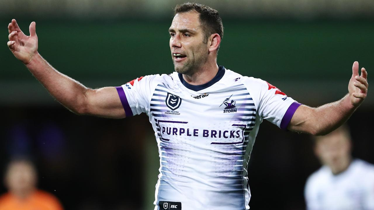 Melbourne Storm great Cameron Smith is a target for many NRL fans.