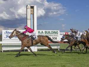 It's Stanthorpe's cup turn