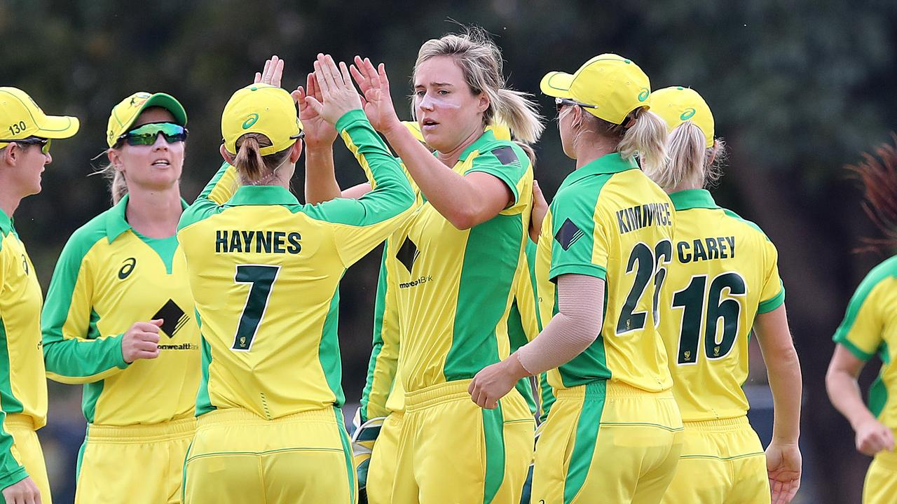 Ellyse Perry and the Southern Stars are one ODI win away from history. Picture: Jono Searle/Getty