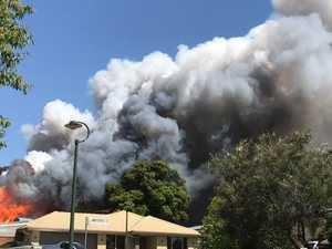 Child, two men hurt as fire devastates home