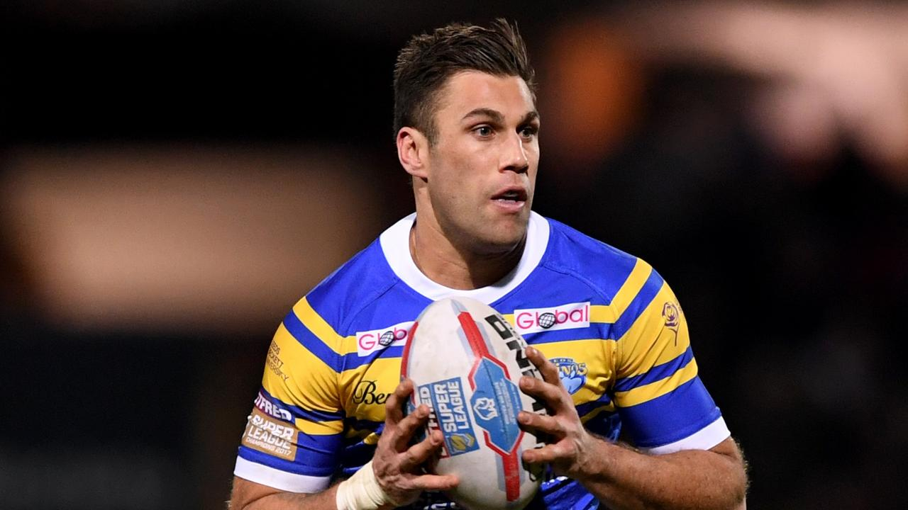 IN ACTION: Joel Moon during the Betfred Super League match between Leeds Rhinos and Hull FC at Headingley Stadium on March 8, 2018 in Leeds, England. (Photo by Gareth Copley/Getty Images)