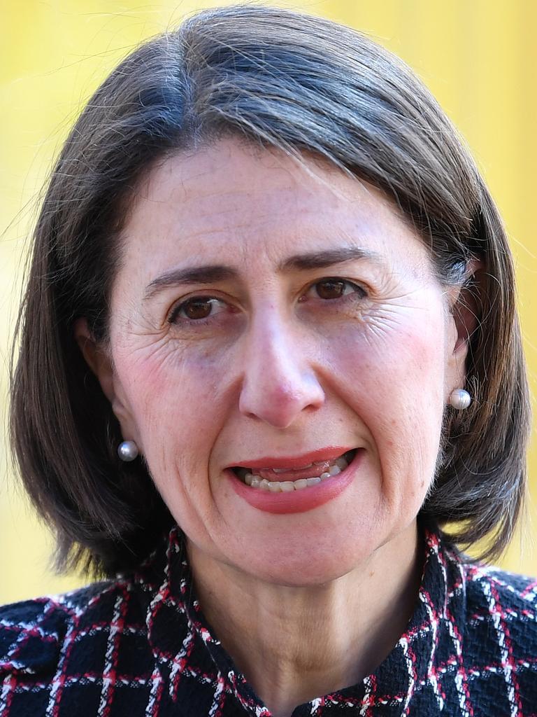 Premier Gladys Berejiklian. Picture: Dean Lewins