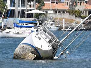 Boat owner up ship creek with costly removal demand