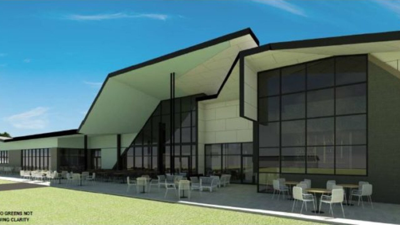 NEW DEVELOPMENT: The project is set to completely transform the Sandhills Sports Club.