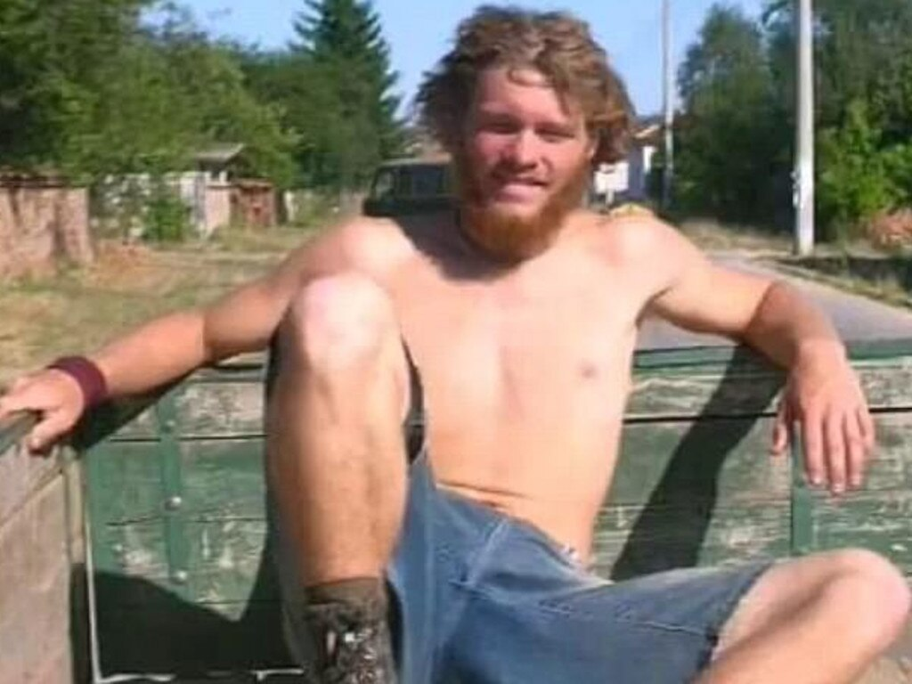 Backpacker Jock Palfreeman, as a young man travelling in Bulgaria in 2006. Picture: Supplied