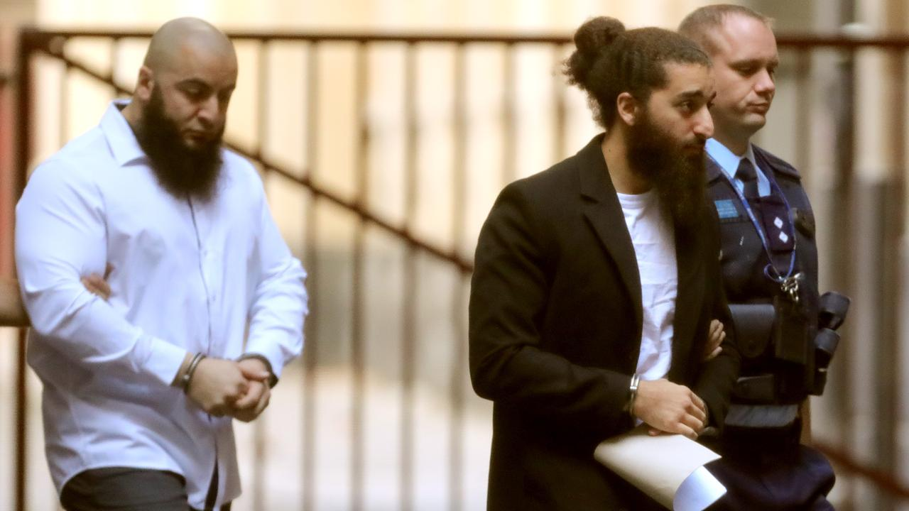 Abdullah Chaarani (right) says he now takes full responsibility for his part in a terror plot to kill scores of Victorians. Picture: Stuart McEvoy