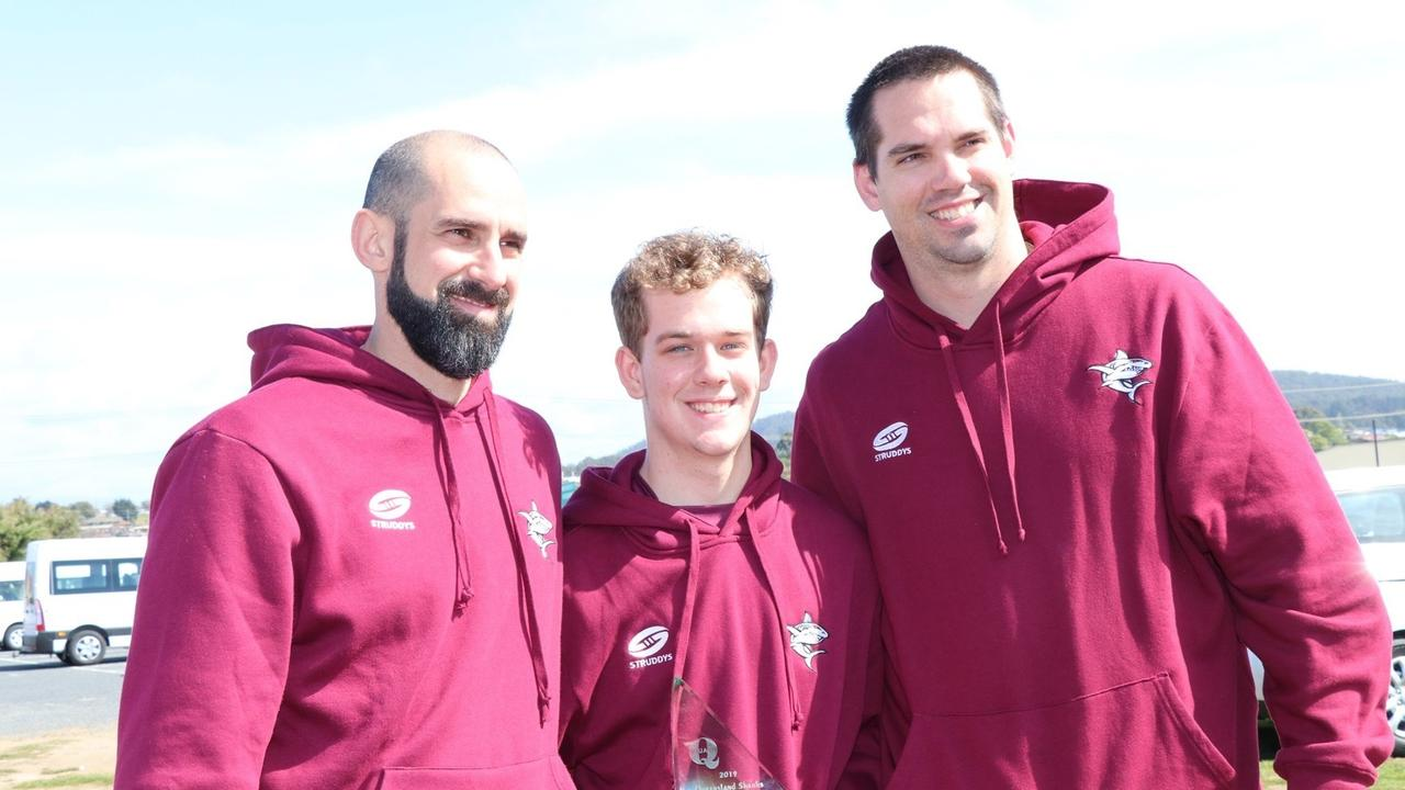 Mackay squash player Brendan MacDonald won the Australian Junior Squash Championships in Devonport in September.
