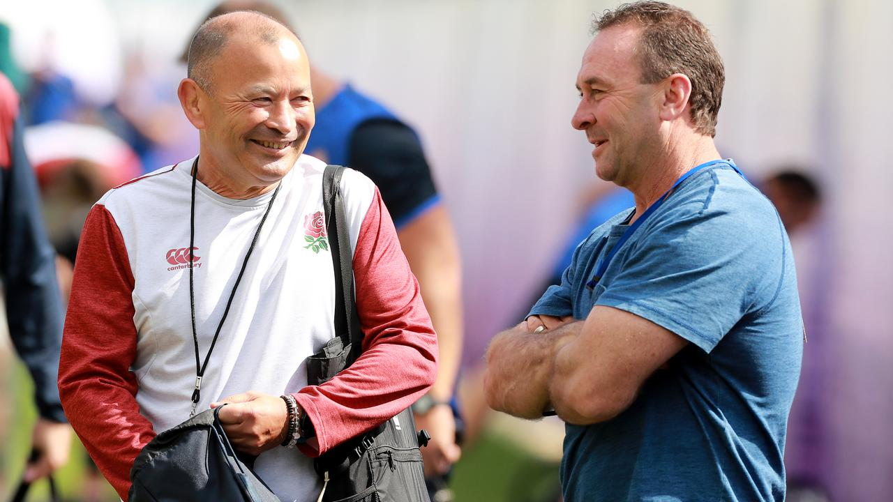 Canberra coach Ricky Stuart has also joined England's camp. Photo: David Rogers/Getty Images