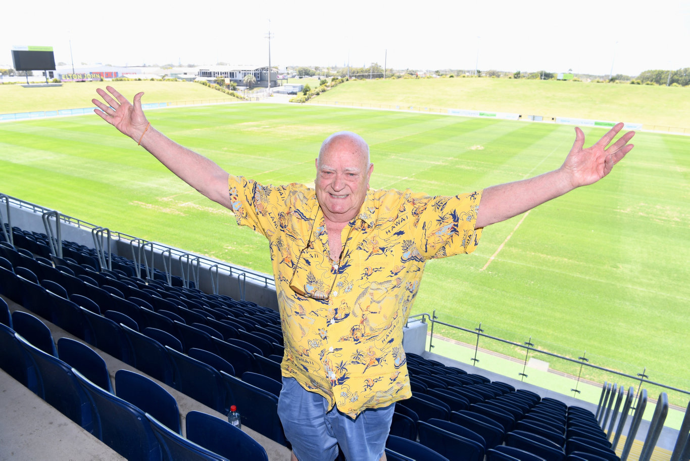Sir Elton John's promoter Michael Chugg is excited about the concert at the Sunshine Coast Stadium.