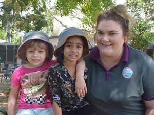 Goodstart North Mackay educator Mel Morris with Chloe