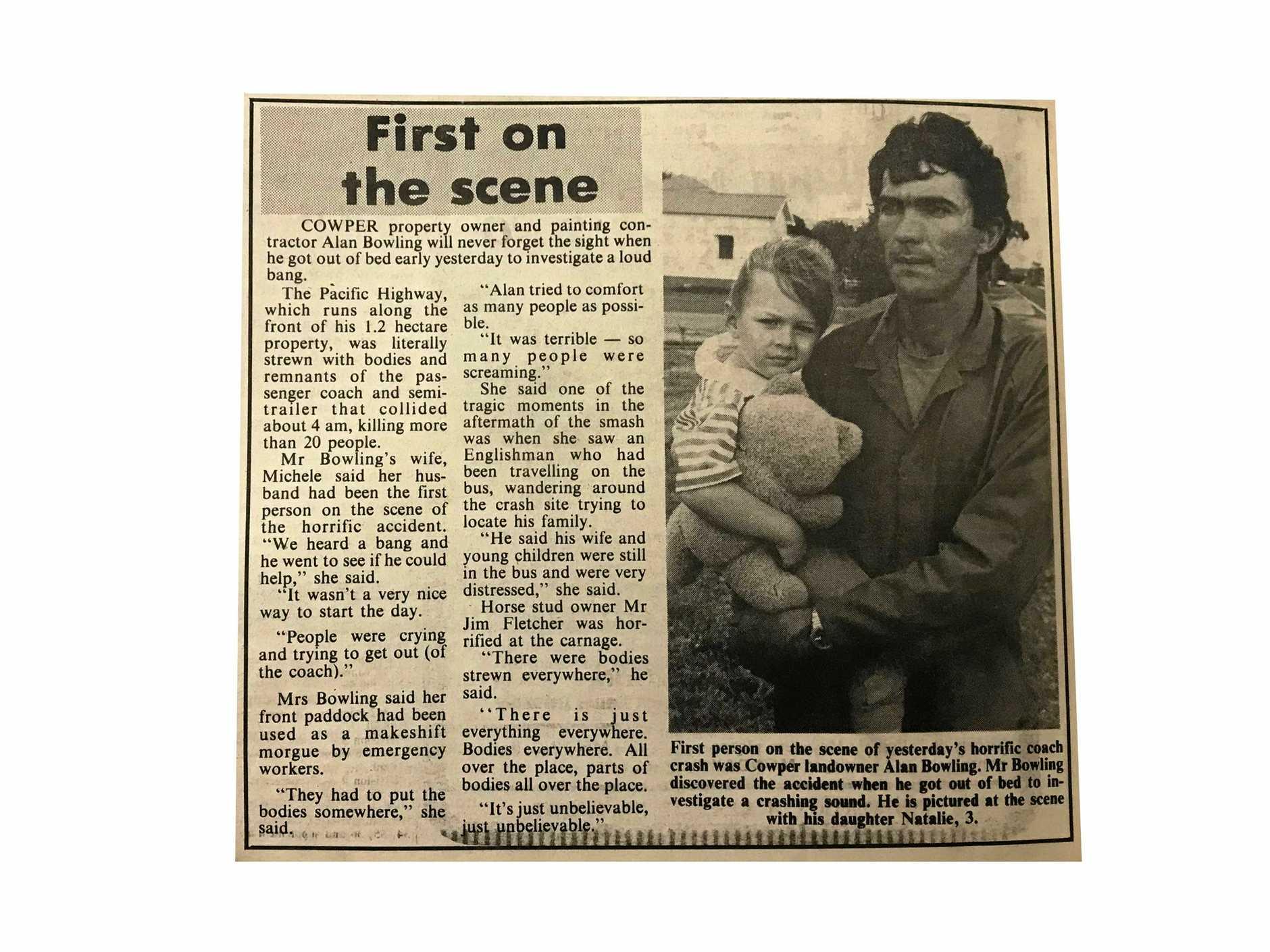 Grafton Daily Examiner, October 21, 1989.