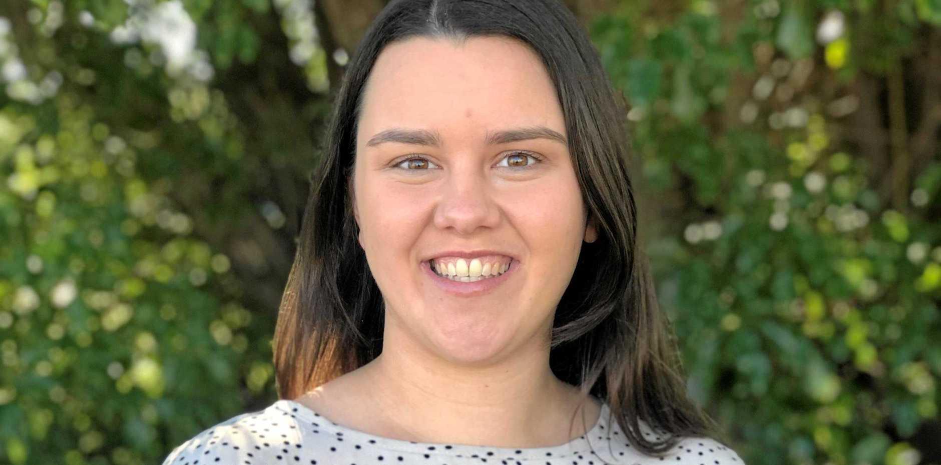 OPINION: South Burnett Times journalist Jessica McGrath.