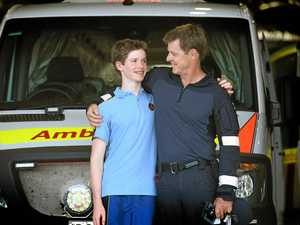 'You kept me away from death': Teen thanks paramedic