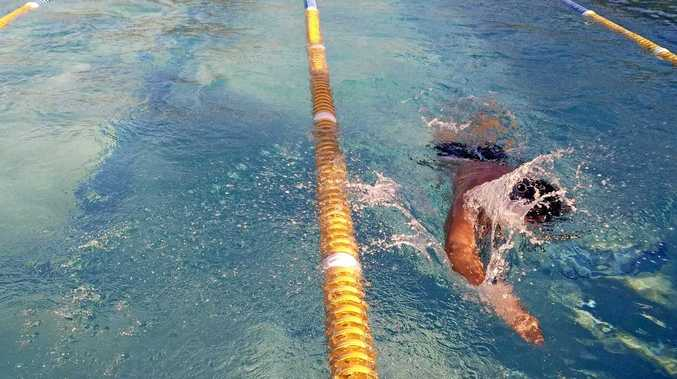 New members join in on the Grafton Services Swim Club action