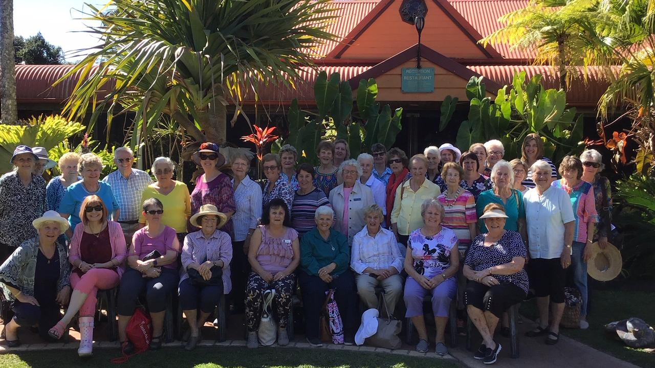 Recently the Koongal Women's Keep Fit Club, family and friends went on its annual day trip.