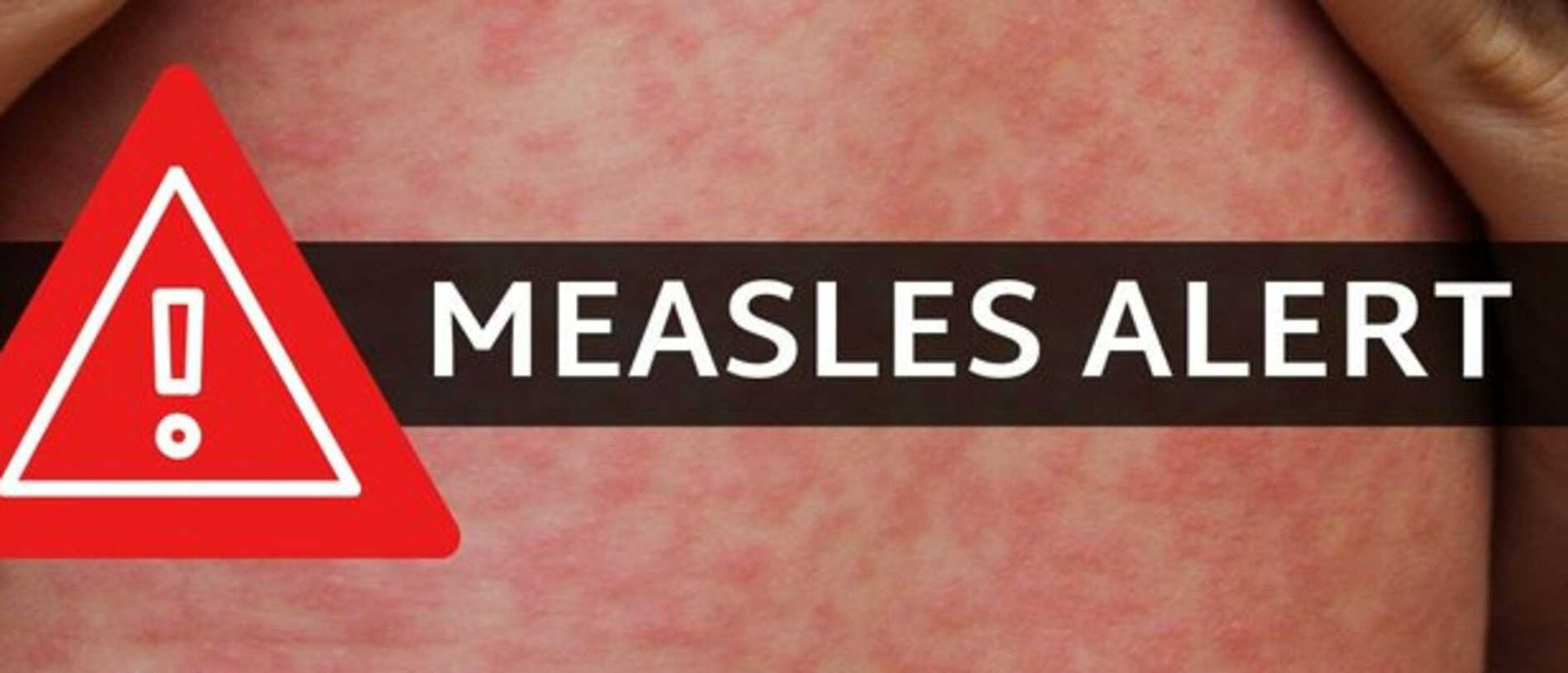 NSW Health has issued a measles warning after an infected man returned to Sydney from overseas.