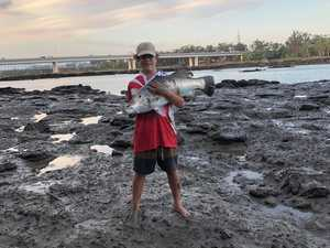 Jacob's hunch pays off: how to catch a barra