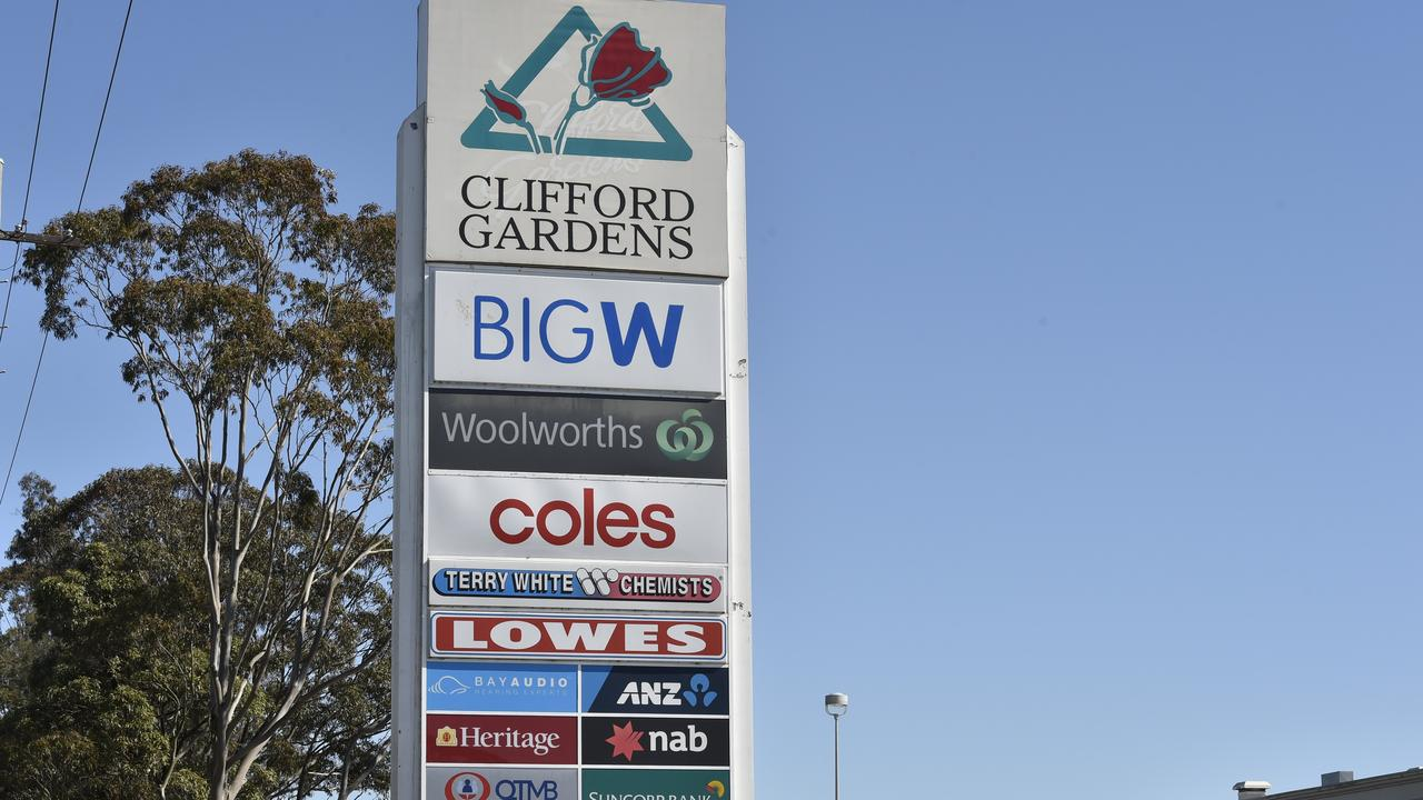 Toowoomba: Clifford Gardens Shopping Centre. Photo Bev Lacey