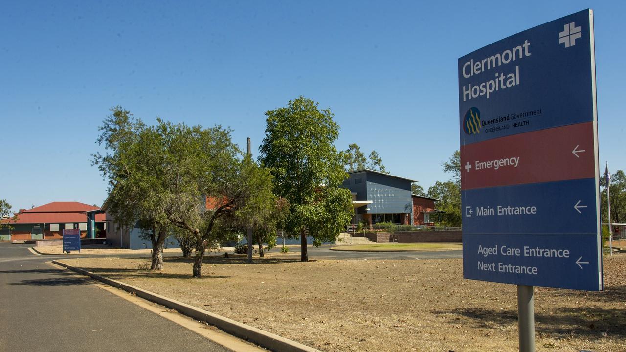 Clermont Hospital. Photo: Daryl Wright