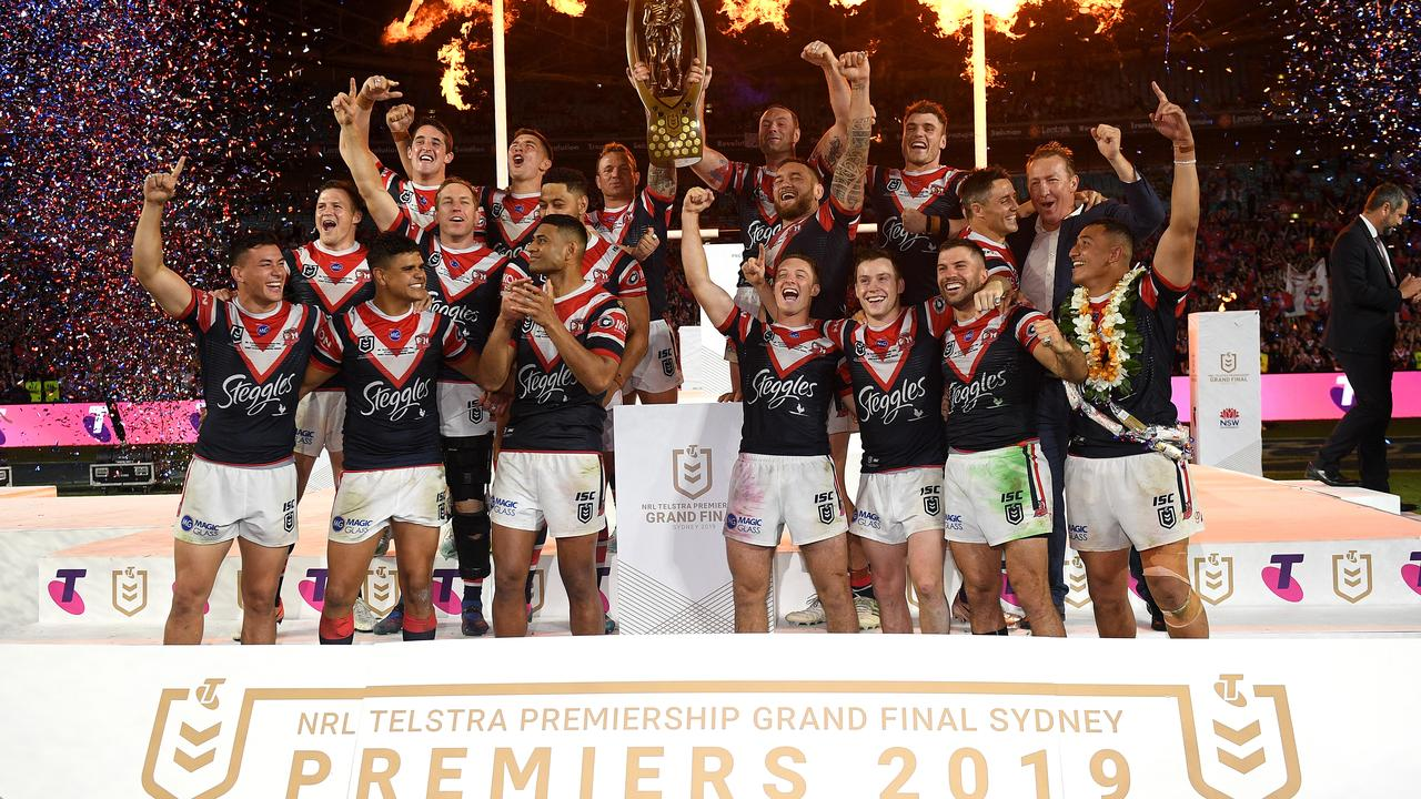 The NRL grand final will be played in Sydney until at least 2046.