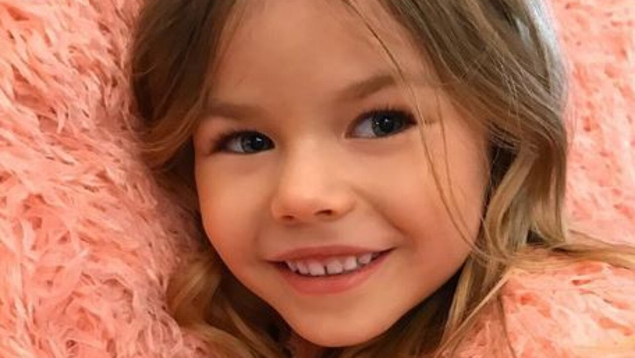 The six-year-old Russian girl has more than 24,000 Instagram followers.