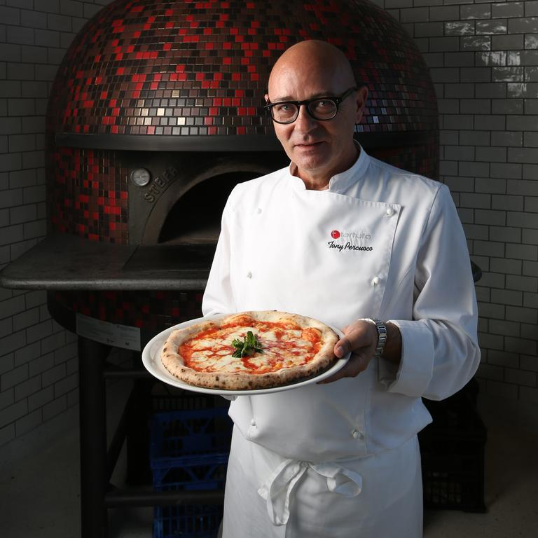Tony Percuoco has been turning out great pizzas for years. Picture: David Kelly