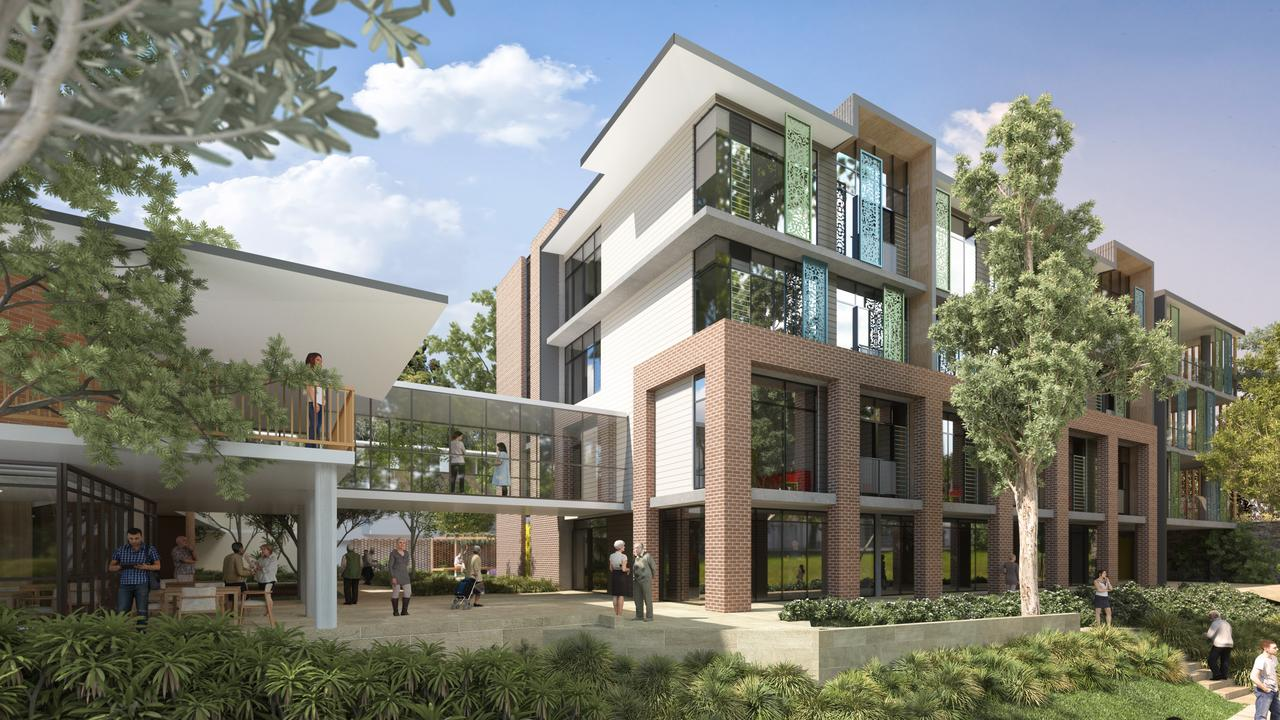Building A will include 36 one-bedroom residential aged care suites across four storeys.