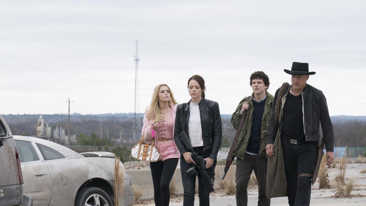 Zoey Deutch (left) is the absolute standout in the Zombieland sequel.