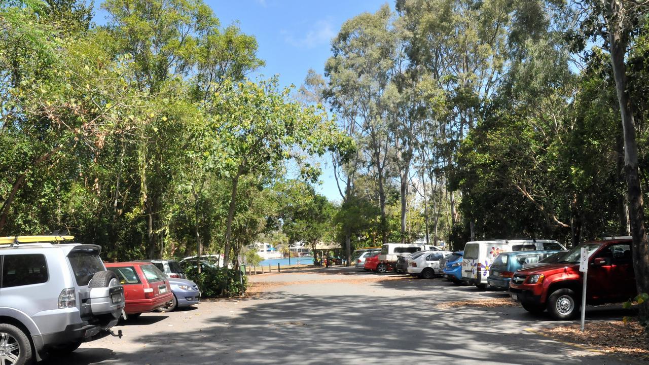 SPACES: Noosa Woods car park.