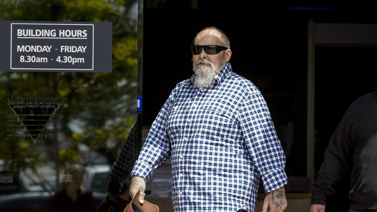 Peter Hasrouny pictured outside Southport Courthouse earlier this week. Picture: Jerad Williams