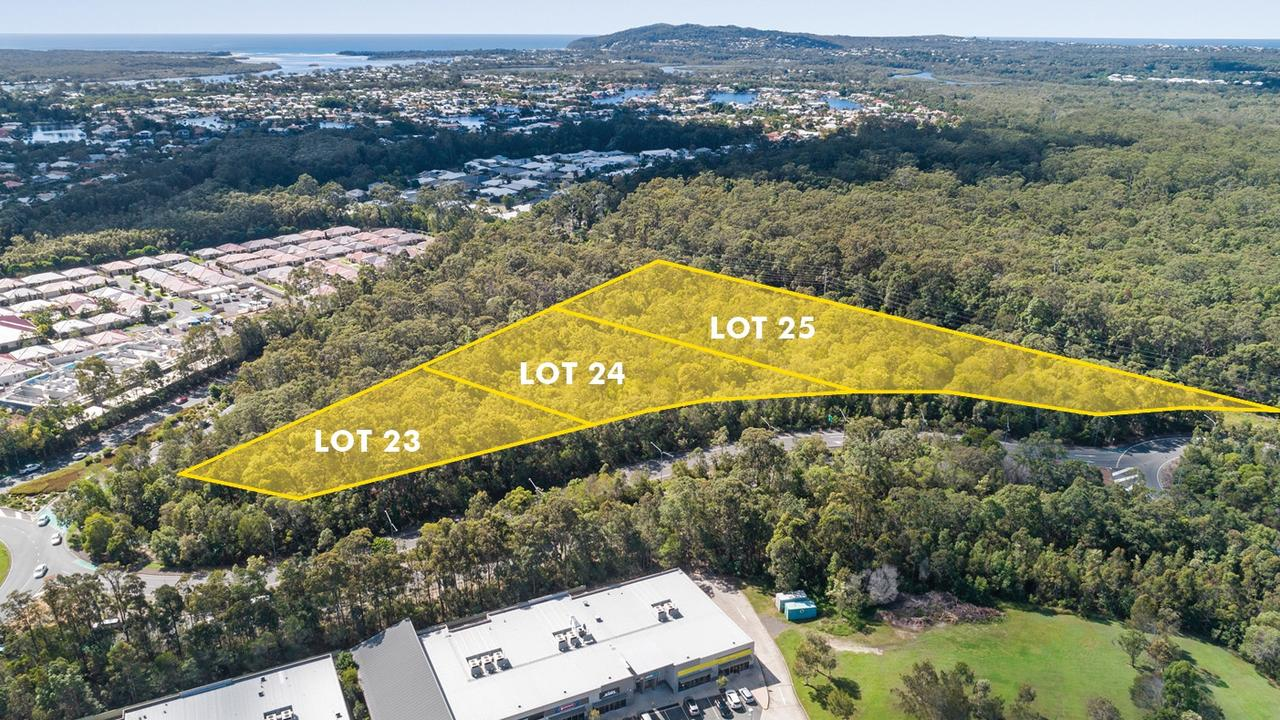 A prime site opposite Noosa Civic, which could house almost 200 units, is on the market.