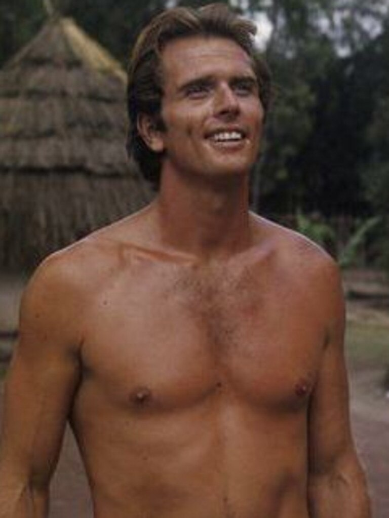 Ron Ely as Tarzan in the hit US TV series. Picture: Supplied