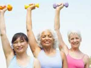 How 'strong' women can defy ageing