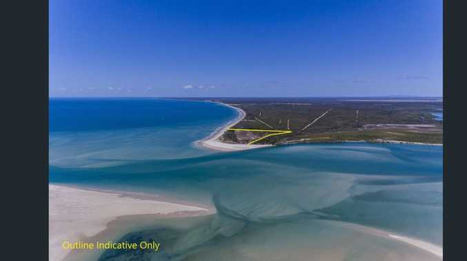 Extraordinary slice of Coonarr: Get in on beach, river access