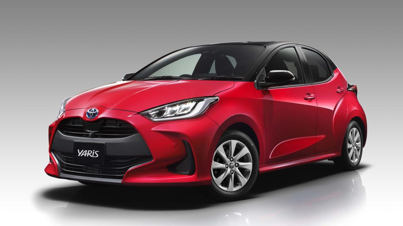 Toyota has unveiled a new Yaris hatchback.