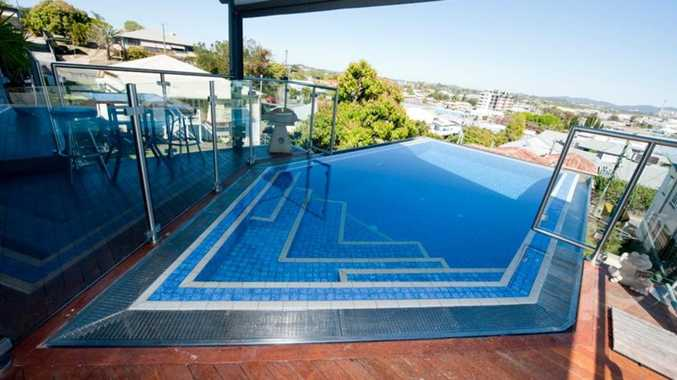 Unique pool design a big drawcard for CBD home