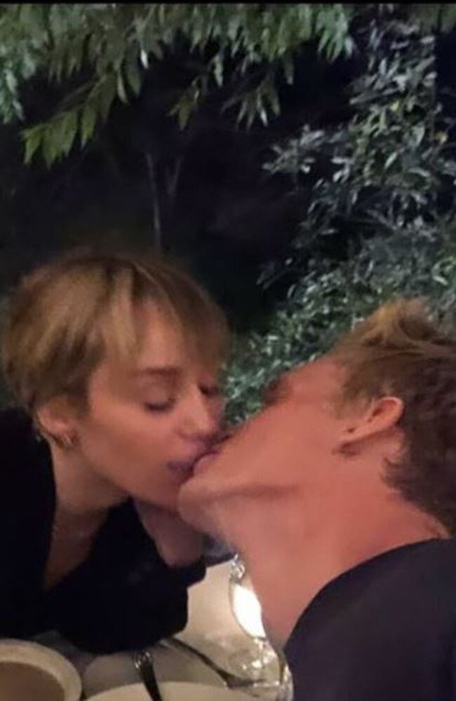 Cody Simpson and Miley Cyrus look more loved up in every photo. Picture: Instagram.