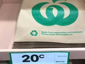 Woolies' surprising new bag move