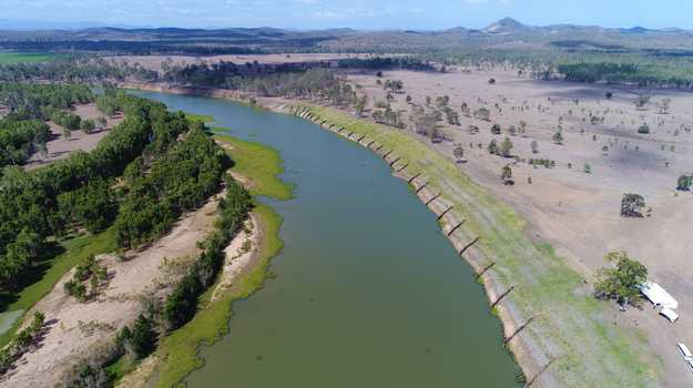 An Australian-first streambank stabilisation project on the Fitzroy River will reduce sediment flow into the Great Barrier Reef during future flooding events.