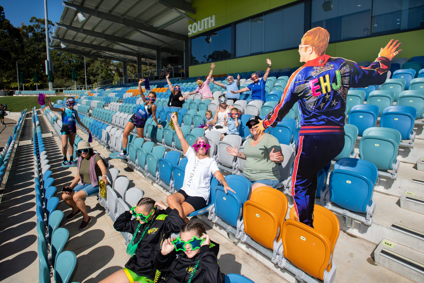 Coffs Harbour City Council today announced that grandstand seating to the Elton John concerts in February will go on sale on Monday.