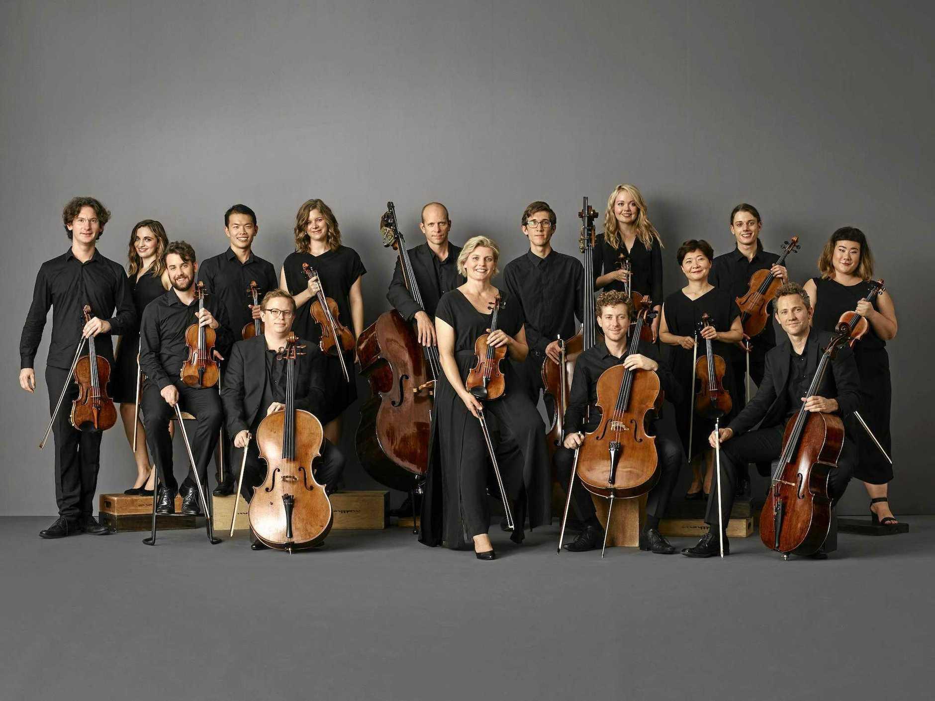 Australian Chamber Orchestra Collective featuring ACO Principal Violin Helena Rathbone.