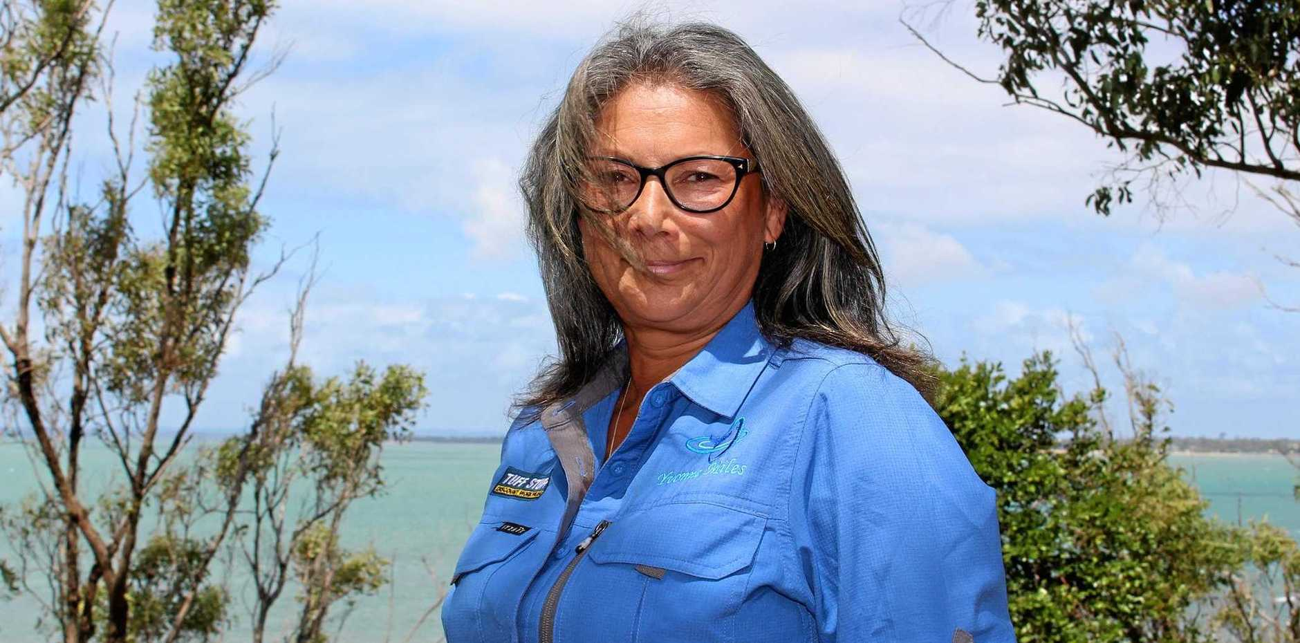 RESCUE GOALS: Hervey Bay marine biologist Yvonne Miles wants to see whale rescue equipment in the city.