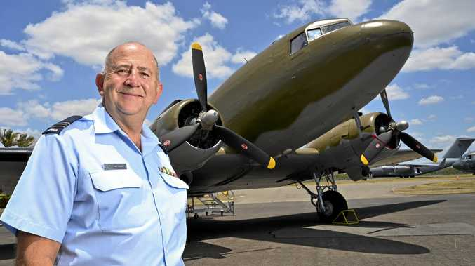 Stars and stripes on show at RAAF Heritage Centre open day
