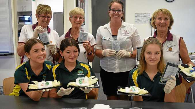 Zonta and students help save lives, one kit at a time