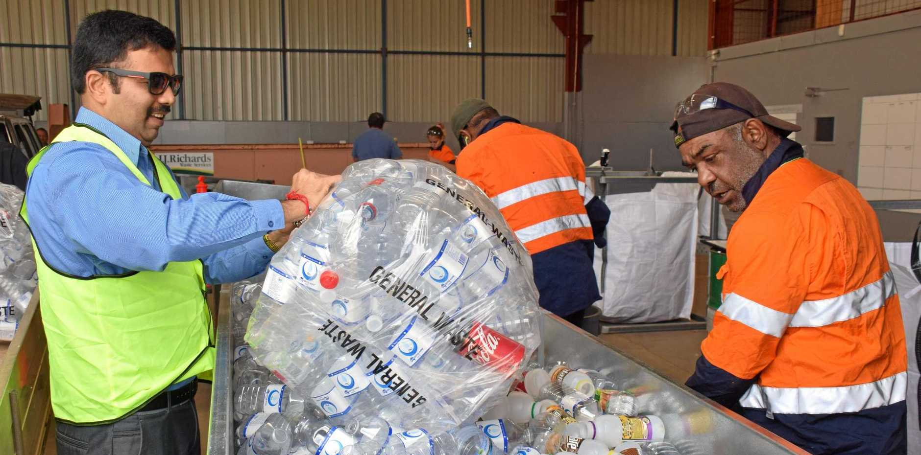 MAKING CHANGE: The new depot has had a busy start in Kingaroy.