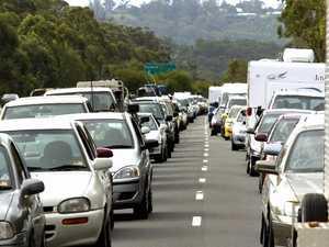 One hospitalised, traffic delayed after Bruce Hwy crash