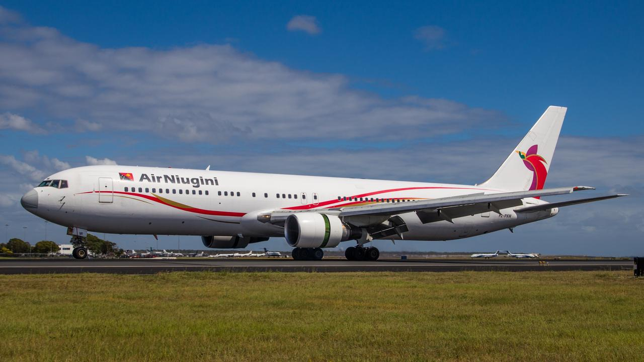 Air Niugini 767, turning 26-years in October, 2017. Picture: Beau Chenery