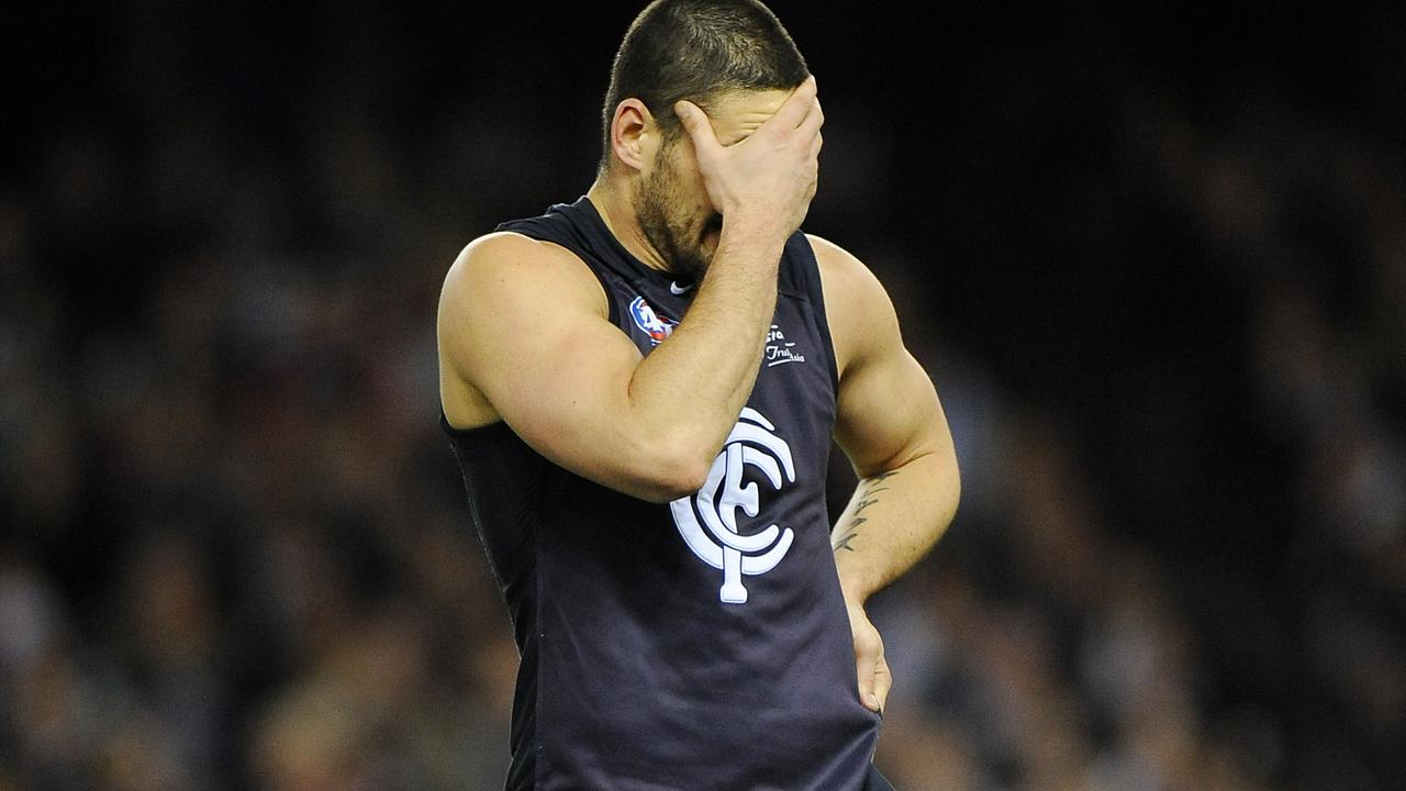 Brendan Fevola never got his 100 goals.