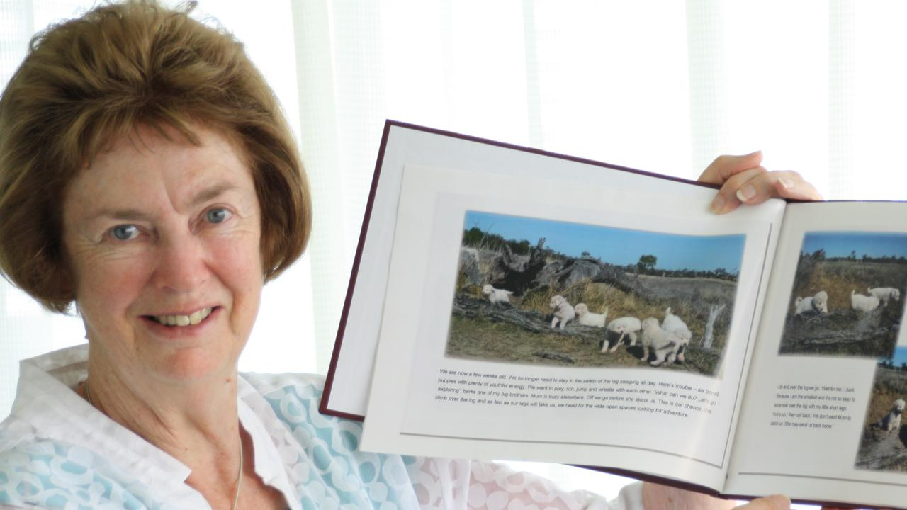 Anne will share her story at Southside Library in Rockhampton today from 10am.