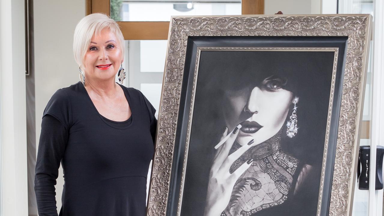 EXHIBITION: Noosa artist Helen Peel.